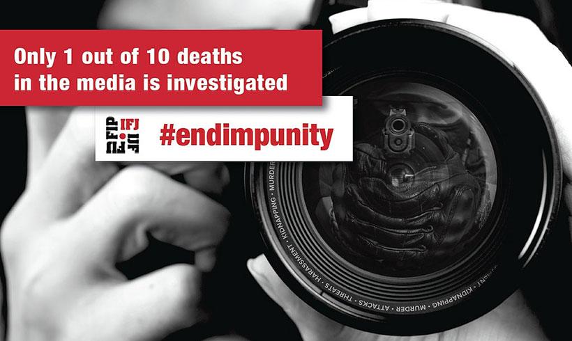 Прикажување на опасностите за новинарите пред јавноста