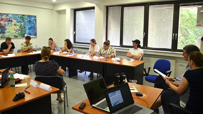 Обука за продукција и споделување на медиумски содржини